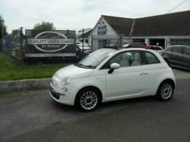 image for 2010 Fiat 500 1.2 Lounge 2dr [Start Stop] CONVERTIBLE Petrol Manual