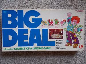BIG DEAL Board Game- Lakeside 1977