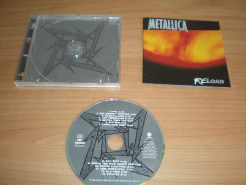 METALLICA - Reload (CD 1997) Originale