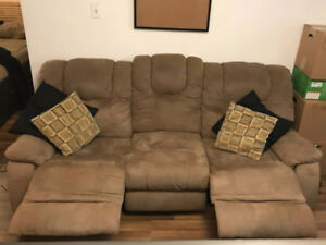 Sofa inclinable 3 places / 3 seater reclining sofa
