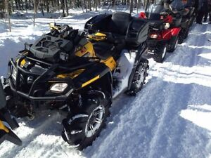 2012 Can-Am Outlander XMR 800 for sale or trade.