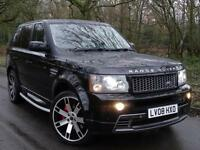 2008 08 Land Rover Range Rover Sport 2.7TD V6 auto HSE..HST BODYKIT..LOW MILES!!