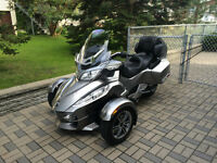 Can-Am Spyder RT-S 2012 Gris