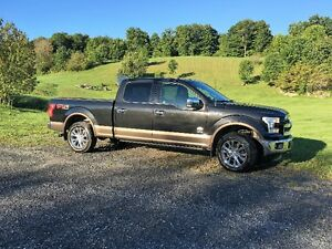 2015 Ford F150 4x4 King Ranch