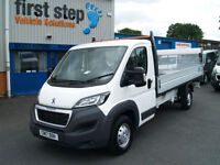 Peugeot Boxer 2.0 BlueHDi 160 ( EU6 ) ( s/s ) 2017MY 435 L4 Dropside + Tail Lift