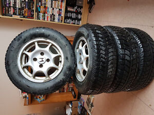 Vx alloys with winter tires.