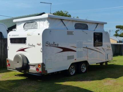 Jayco Sterling  18ft caravan 2008 model as new Victoria Point Redland Area Preview