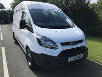 2015 15 FORD TRANSIT CUSTOM HIGH ROOF L2 H2 2.2TDCI 290 100BHP ANY UK DELIVERY