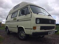 VW 1.6turbo diesel T25 campervan 1989 2+2