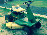 """Swap"" Riding Lawnmower for Quad"