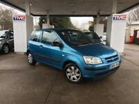 2004 Hyundai Getz 1.3 GSi 3dr HATCHBACK in BLUE