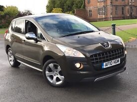 PEUGEOUT 3008 1.6 EXCLUSIVE 2010 CHEAPEST ON THE NET