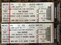 The Weeknd - 2 lower bowl pairs, sections 105, 107