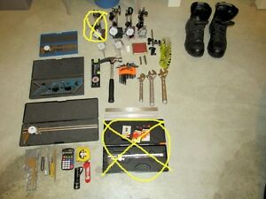For sale basic tools for machinist