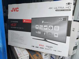 TV BRAND NEW 43INCH SMART WIFI 4K ULTR HD HDR