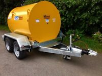 Dale Kane 1000 ltr fuel bowser fully bunded ADR registered