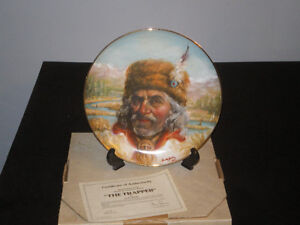 """The Trapper"" collector plate."