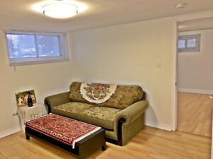 Cozy 1bdr basement apartment available now - MUST SEE