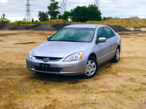 2005 honda accord sedan 2.4l low kms