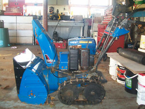 Yamaha track drive snowblower with electric start