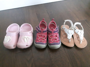 Children size 6/7 shoe lot