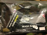 WEB TEX DPM Military Products Wash bag brand new item sealed