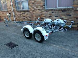 18FTt model boat trailer REGISTERED-suits boats in the 5.5m range Mortdale Hurstville Area Preview
