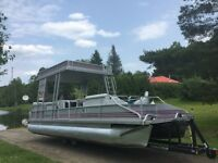 HOLY GRAIL 2 STORY DOUBLE DECKER 19 PASSENGER PONTOON BOAT