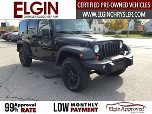 2013 Jeep Wrangler Unlimited Sahara***Leather,Navi,4x4,Low Kms** London Ontario image 3