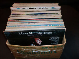 LP's Records 50+ from the late 50's to the early 70's