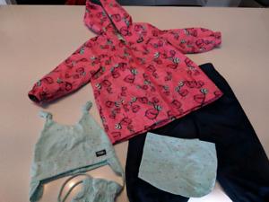 Ensemble printemps/automne bébé fille 18 mois
