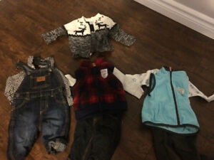 Whole bag 3-6 month boys clothes (fall/winter)