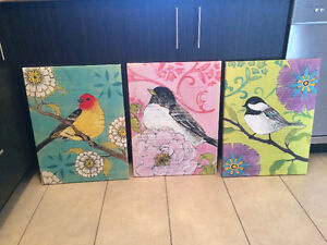 3 Paintings from Pier 1 Imports