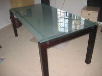 Magnifique table de salle à manger moderne 36po x 72po.