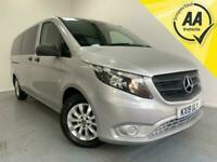 2019 Mercedes-Benz Vito 114 Tourer Select Extra Long Auto 9 Seater A/C Die Minib