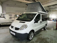 Renault trafic 4 Berth Campervan SK Motorhomes For Sale