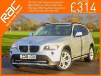 2011 BMW X1 xDrive20d Turbo Diesel SE 4x4 4WD AGS 6 Speed Auto Bluetooth Full Le