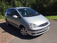 54/// Ford Galaxy 1.9 Tdi 130 bhp 6 speeds 7 seater , full leather with TVs