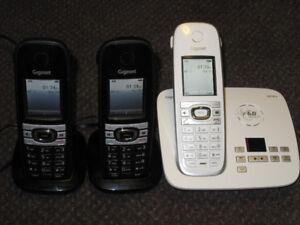 SIEMENS Gigaset C610A Cordless Phone Set - works great - $69.