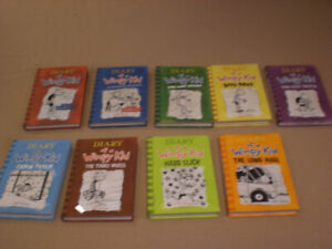 Like New Hardcover Diary of a Wimpy Kid Books