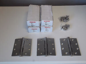 """BRAND NEW IN BOXES - SETS OF 3 BUTT HINGES - 4.5"""" x 4"""" ONWARD"""