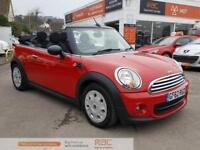MINI CONVERTIBLE ONE 2012 Petrol Manual in Red