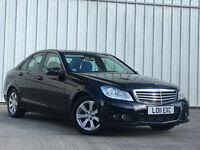 Mercedes-Benz C200 2.1CDI Blue F 2011MY SE SAT/NAV PX SWAP FINANCE AVAILABLE