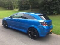 Vauxhall Astra vxr 2007 done 100k in Arden blue with leather recaro interior