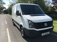 2015 15 VOLKSWAGEN CRAFTER 2.0TDI 110BHP SWB FULL VW SERVICE HISTORY 1 OWNER