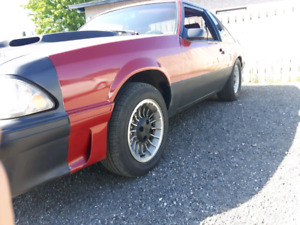 1987 ford mustang foxbody 5L  CARB.