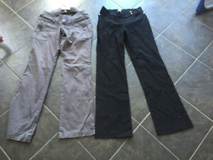 Xsmall Maternity pants (Old Navy, Thyme Maternity)