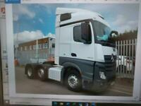 Mercedes-Benz Actros 2545 streamspace 6x2 tractor unit 1 owner only 613k klms
