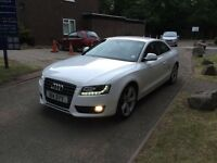 2008 Audi A5 2.7tdi sport ibis white lady owner 1 previous onwer history !! A6 a7 bmw a3 golf x5 ml