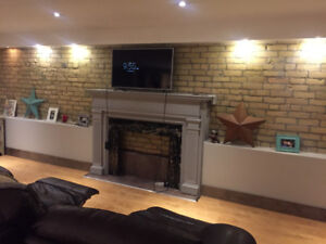 SPACIOUS FULLY FURNISHED BASEMENT APT AT BATHURST AND COLLEGE